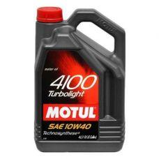 Масло Motul Turbolight 4100 4л 10W40 полусинтетика