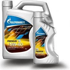 Масло Gazpromneft Premium 5W40 4л+1л
