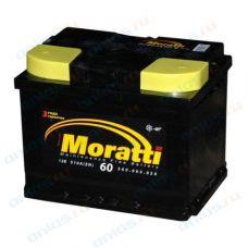 АКБ Moratti 60 а/ч прямая полярность