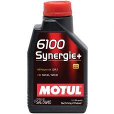 Масло Motul 6100 Syn-nergie 4л 5W40 синтетика