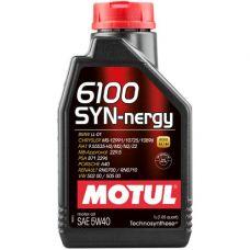 Масло Motul 6100 Syn-nergie 1л 5W30 синтетика