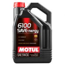 Масло Motul 6100 Save-Nergy 5л 5W30 синтетика