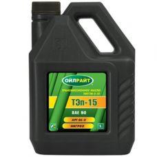 Масло OIL RIGHT ТЭП-15В SAE 90 3л