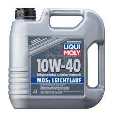 Масло Liqui Moly MoS2 Leichtlauf 10W-40 4л