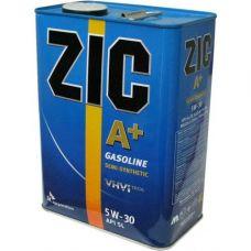 Масло ZIC A PLUS 4л 5W30 полусинтетика